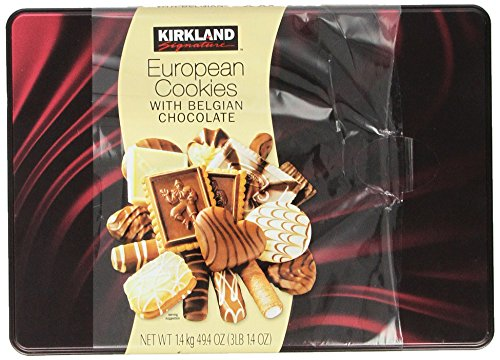 Kirkland Signature European Cookies with Belgian Chocolate, 49.4 Ounce (Chocolate Biscuits compare prices)