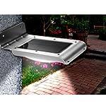 LE Solar Powered LED Motion Sensor Li...