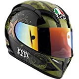 AGV T-2 WARRIOR HELMET (SMALL) (BLACK)