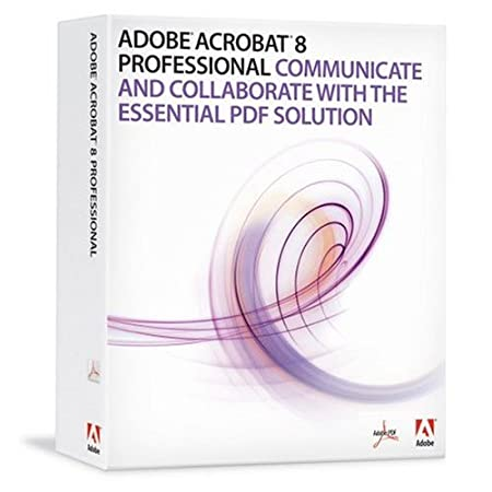 Adobe Acrobat Professional 8.0 [OLD VERSION]