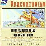 Three Concert Arias, Ode To Joy (Tjeknavorian, Armenian Po)