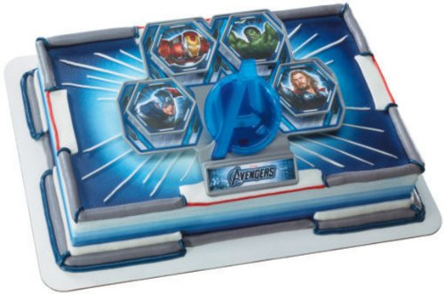 Marvel Avengers Light Up Cake Topper