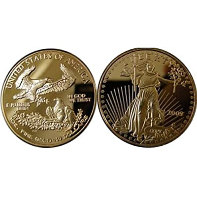 2009 $50 American Eagles Gold Coin - Replica