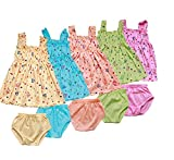 #5: Feel Trendy Frock for Baby Girls (6 - 12 Months) from PHOENIX99