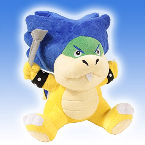 "Super Mario Brothers 6"" Plush ludwig von Koopa toy Doll"