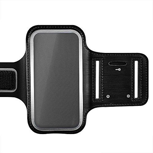 VTIN Brassard Sport iPhone 7/6/6S Etui Brassard avec Sangle Réglable pour le Jogging/Gym/Course Armband Sport compatible avec iPhone 7, 6, 6S