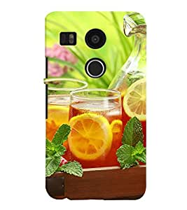 GADGET LOOKS PRINTED BACK COVER FOR LG Google Nexus 5X MULTICOLOR