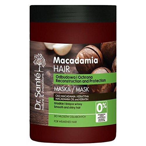 Dr. Sante Macadamia Maschera per Capelli indeboliti capelli con cheratina 1000ml