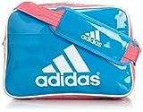[アディダス] adidas エナメル ショルダーS Z7676 F92345 (ソーラーブルー S14/バヒアピンク S14/ホワイト)
