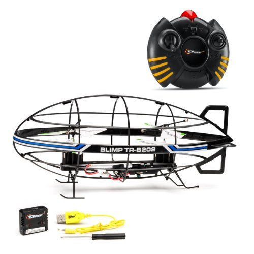 charge a remote control helicopter with Top Race 3 Ch Indoor Rc Remote Control Blimp Rtf on 160912813214 together with 2882442 moreover Hison high speed racing mini rc jet boat besides Lily Robotics Drone besides Metal Frame Rechargeable 3 5 Ch C Indoor 12750457.