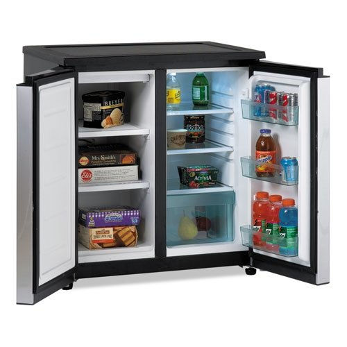 Avanti Model RMS550PS - SIDE-BY-SIDE Refrigerator/Freezer (Breakroom Fridge compare prices)