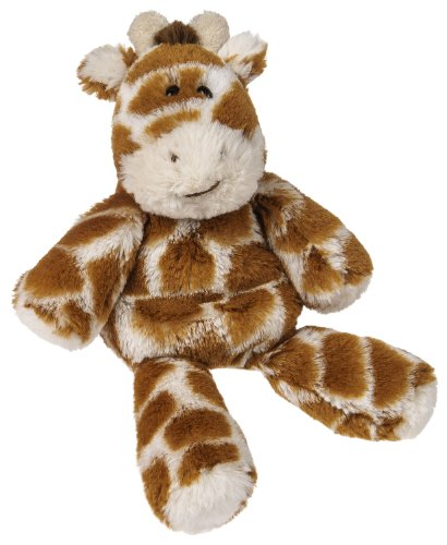 Mary Meyer Marshmallow Plush Rattle, Giraffe - 1