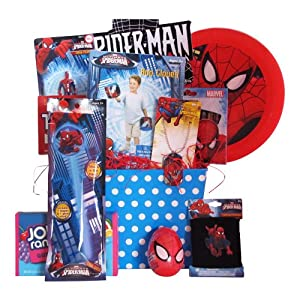 Perfect Gift Baskets for Boys Age 8 and Under Spiderman Outdoor Activities Basket