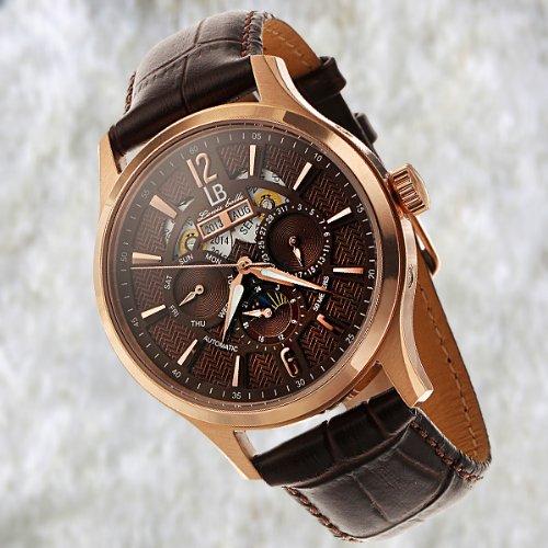 Louis Bolle Automatic Multi-Function Geoffery Watch