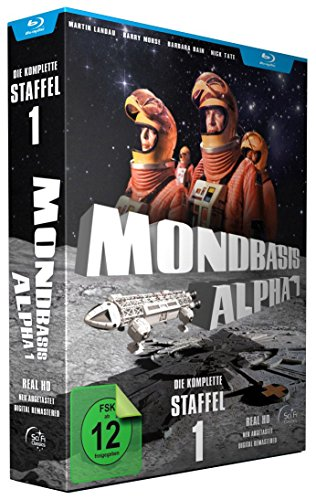 Mondbasis Alpha 1 - Extended Version HD - Staffel 1 (Real HD / Neuabtastung) [6 BLU-RAY]