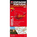 Espagne Portugal, carte routire & touristique 2011par Blay-Foldex