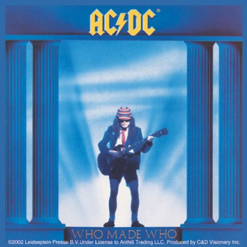 Licenses Products AC/DC Who Made Who Sticker