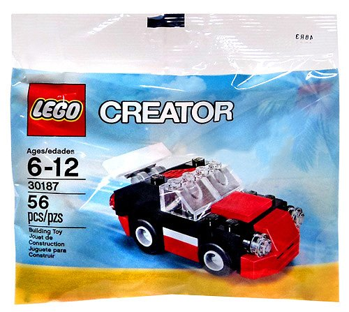 LEGO Creator Set #30187 Fast Car [Bagged] - 1