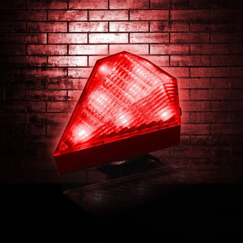 PYSICAL(TM) 3-Mode 8-LEDs Bicycle Taillight with 2 Laser Lane Marker (Red)