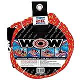 ZERO 夏水遊び~WOW(ワオ) トーイングロープ 1-2人乗り用 破断強度1077kg ロープ径約10mm