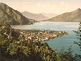 TRAVEL MENAGGIO LANDSCAPE LAKE COMO ITALY 30X40 CMS FINE ART PRINT ART POSTER BB9766