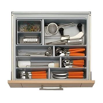 besteckkasten für küchenschubladen 45cm