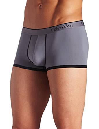 Calvin Klein CK ONE Micro Low Rise Trunk 男低腰弹力四角裤 $12.6双色