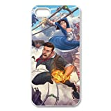 Popular PC game bioshock cute cartoon role hard plastic case for Iphone 5/5S