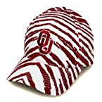 Striped Oklahoma Sooners Hat