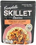 Campbells Skillet Sauces, Toasted Sesame with Garlic and Ginger, 9-Ounce Pouch