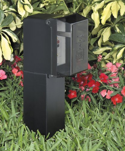Landscape Lighting Garden Post : Arlington gpd b gard n post outdoor landscape lighting