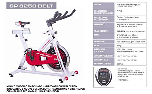 Gym Bike SP 8250 Belt
