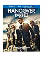 The Hangover Part III (Blu-ray+DVD+UltraViolet Combo Pack) from Warner Home Video