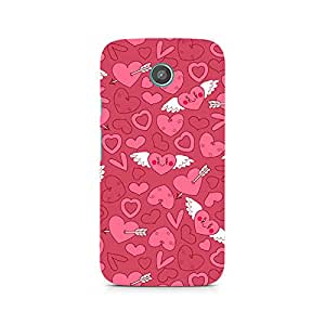 Ebby Wngs of Love Premium Printed Case For Moto G2