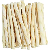 Dog Chew White Tisted Sticks 350g