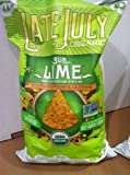 Late July Multigrain Organic Gluten Free Sub Lime Tortilla Chips - 24 Oz.