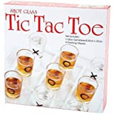 "Maxam SPTTT 9-3/4""x 9-3/4""Shot Glass Tic Tac Toe Game"