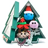 Plush Microbe: Christmas Tree Mini Microbes Box