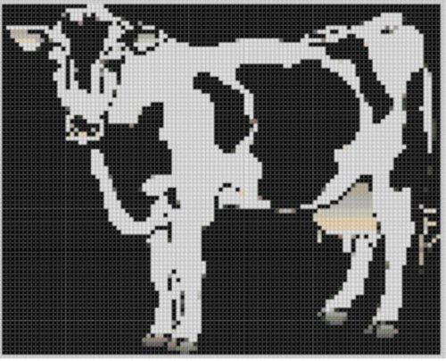 cow-3-cross-stitch-pattern-english-edition