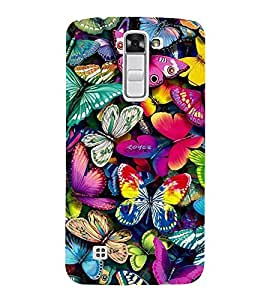 Vizagbeats Butterflies Back Case Cover for LG K10