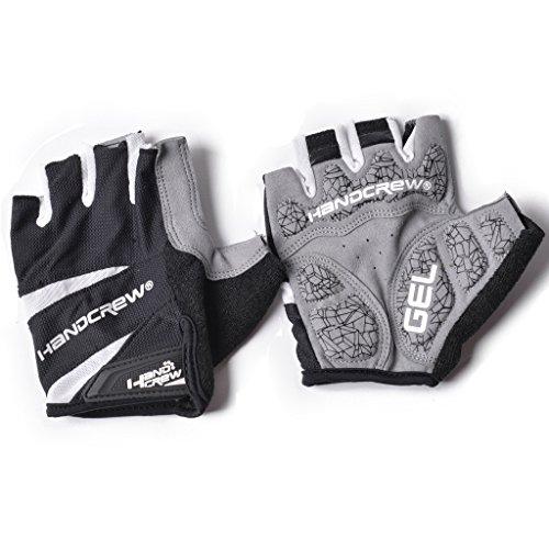 Tofern Mens Spring/Summer Fingerless Cycling Gloves Gel Padded Breathable Sports Gloves - Color перчатки patagonia shelled insulator fingerless gloves