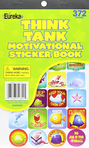 Eureka Think Tank Reward Stickers Sticker Book