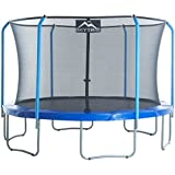 """SKYTRIC Trampoline with Top Ring Enclosure System Equipped with the """"EASY ASSEMBLE FEATURE"""""""
