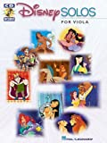 Disney Solos (Viola) - Instrumental Folio Bk+CD