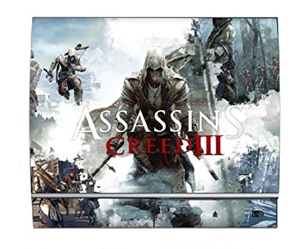 Assassin's Creed III 3 PS3 Limited Edition Game Skin for Sony Playstation 3 Console