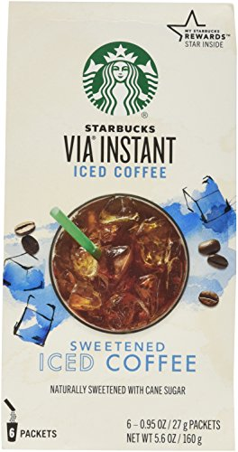 Starbucks VIA Iced Coffee, 6-Count Packages (Pack of 2) (Iced Via Coffee Starbucks compare prices)