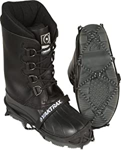 Yaktrax Pro Traction Cleats for Snow and Ice, Black, Small