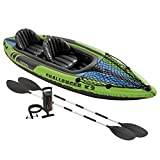 Intex Challenger K2 Kayak, 2-Person Inflatable Kayak Set with...