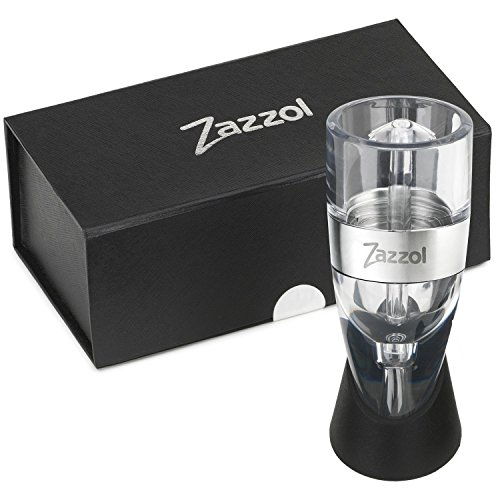 Zazzol Wine Aerator Decanter - Multi Stage Design with Gift Box - Recommended by Business Insider (Wine Diffuser compare prices)