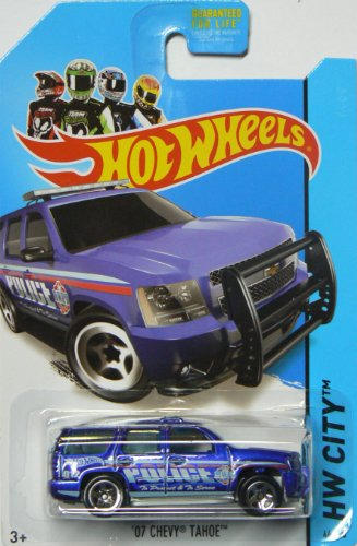 Hot Wheels Rescue 2014 Hw City '07 Chevy Tahoe